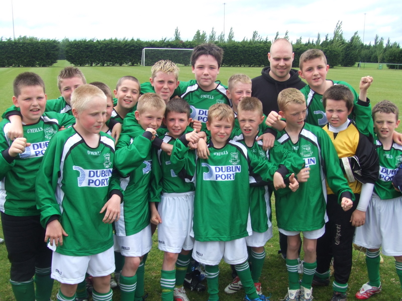 Cup Winning Team and Coach 2007